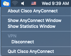 Using the Cisco AnyConnect VPN Client on MacOS – ITS Virtual Helpdesk